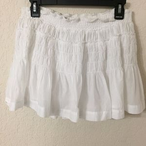 American Eagle Outfitters White Cotton Skirt (B7)